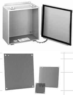 4X 72 x 72 Steel 4 12//13 Type 3R Hoffman A72P72 Panel For Enclosure